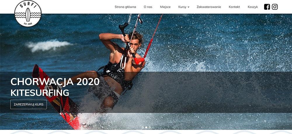 strona internetowa surfi