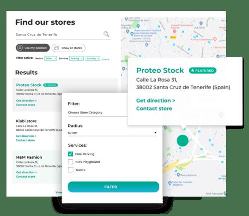 wtyczka WordPress lokalizator sklepów